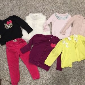 Girls fall/winter clothing